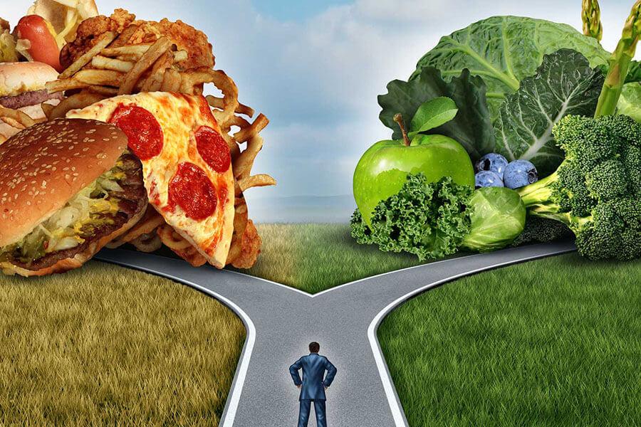 Mangiare meglio per stare bene.